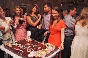 Mari Vanna birthday cake