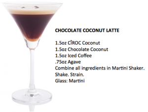 Chocolate Coconut Latte