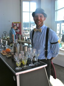 """Heath Weatherby who concocted a drink called the """"What's up Doc"""" Second Place"""